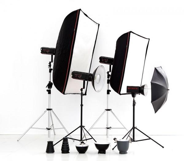 Alquiler de equipo de iluminación para fotografía