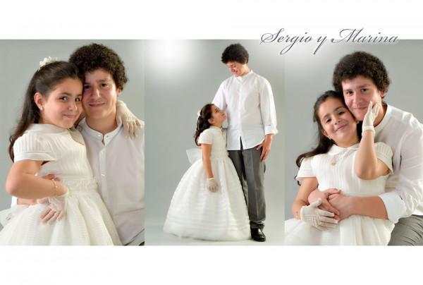 Primera comunión - Marina y Sergio