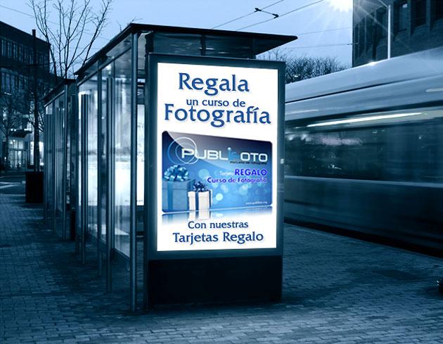 Tarjeta Regalo cursos fotografía