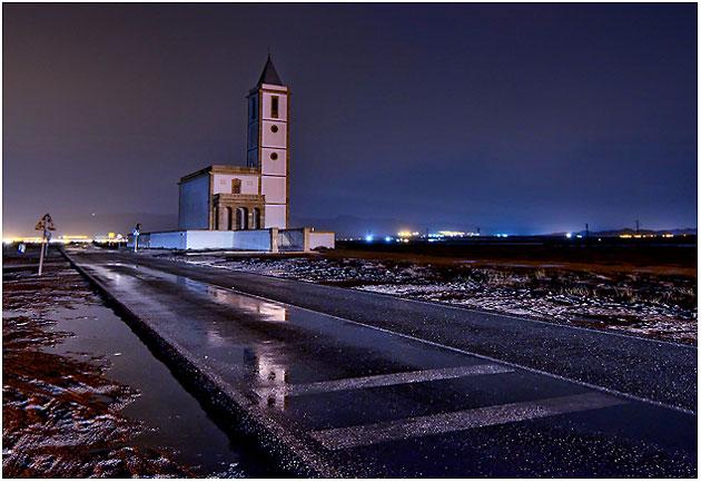 Iglesia de salinas de Cabo de Gata