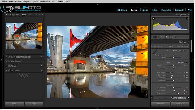 Curso Photoshop Lightrom - Bilbao