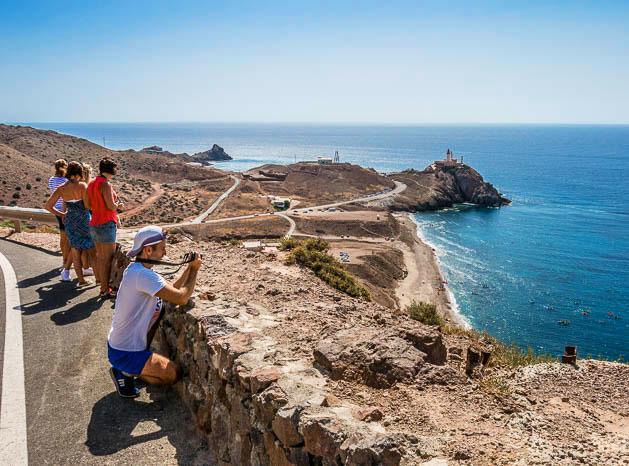 Faro Cabo de Gata - Curso fotografía