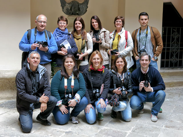 Alumnos curso fotografía Málaga