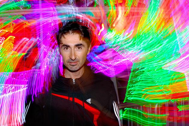 Retrato, técnica de SpinFlash